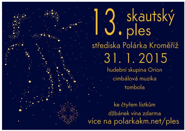 13. reprezentační ples skautského střediska Polárka